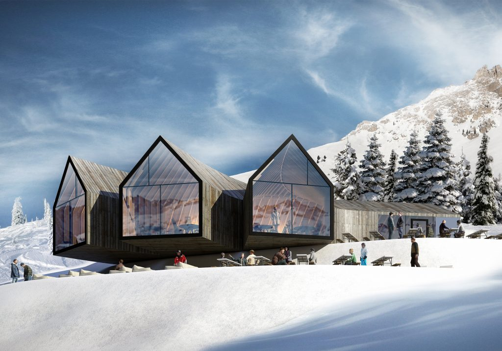 Competition Win Mountain Hut On 2.000 Meters Above Sea Level